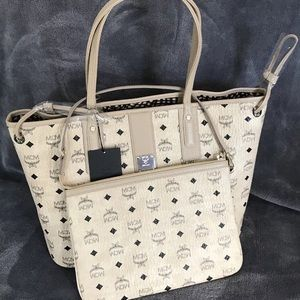 Brand New Authentic MCM Tote & Clutch